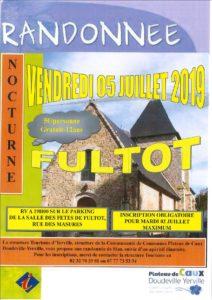 RANDONNEE DE L'OFFICE DU TOURISME DE YERVILLE @ FULTOT
